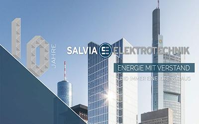Wir gratulieren zu 10 Jahren Salvia Elektrotechnik